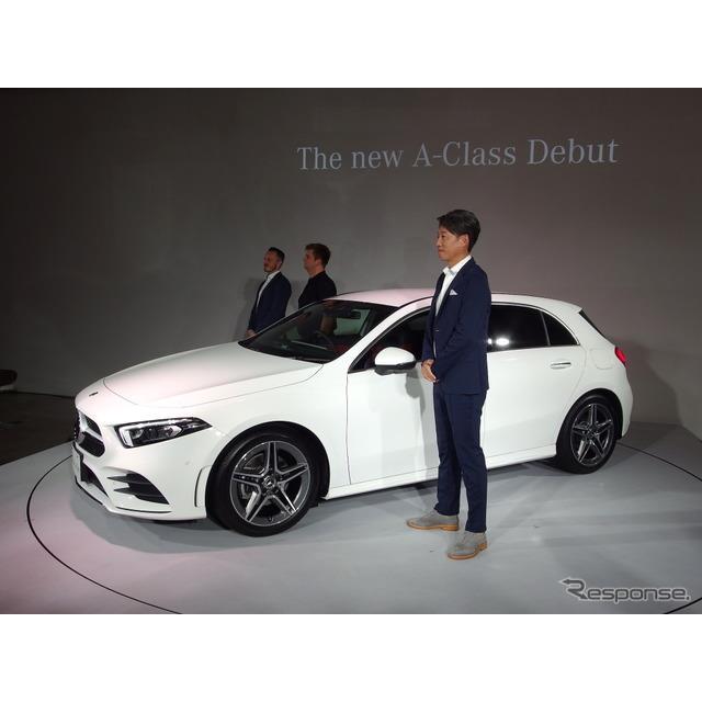 メルセデスベンツ日本は、 新型『Aクラス』(Mercedes-Benz A-Class)を発表し、10月18日より注文受付を開...