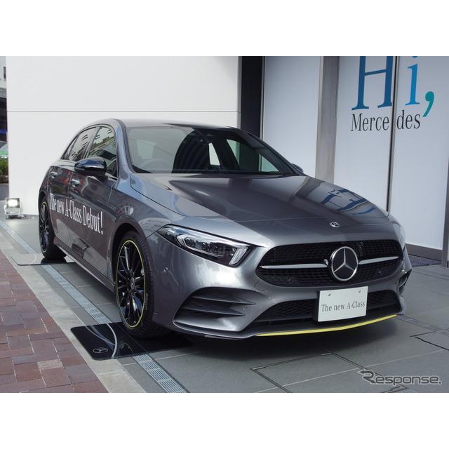 メルセデスベンツ日本は、新型『Aクラス』(Mercedes-Benz A-Class)導入を記念した特別仕様車「A180エディ...