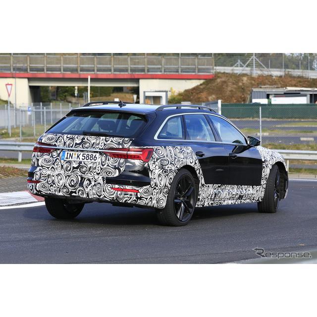 アウディは今年に入り新型『A6セダン』、ステーションワゴンの新型『A6アバント』を立て続けに発表している...