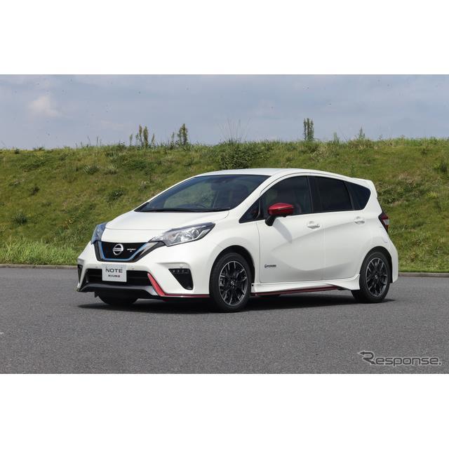 日産自動車は、9月25日より『ノートe-POWERニスモ』のハイスペックモデルである「ノートe-POWERニスモS」を...