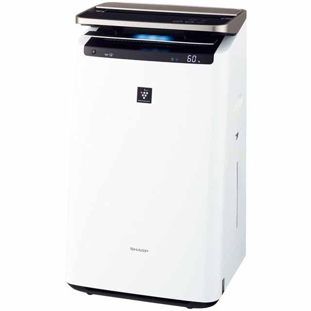 プラズマクラスター加湿空気清浄機<KI-JP100-W(ホワイト系)>