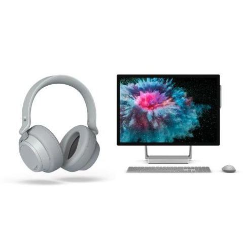 「Surface Headphones」「Surface Studio 2」