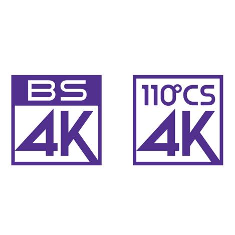 新4K衛星放送ロゴ