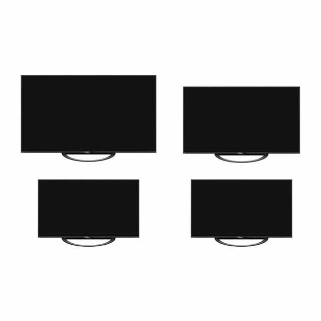 画像は、上段左「8T-C80AX1」、上段右「8T-C70AX1」、下段左「8T-C60AX1」、下段右「8T-C60AW1」