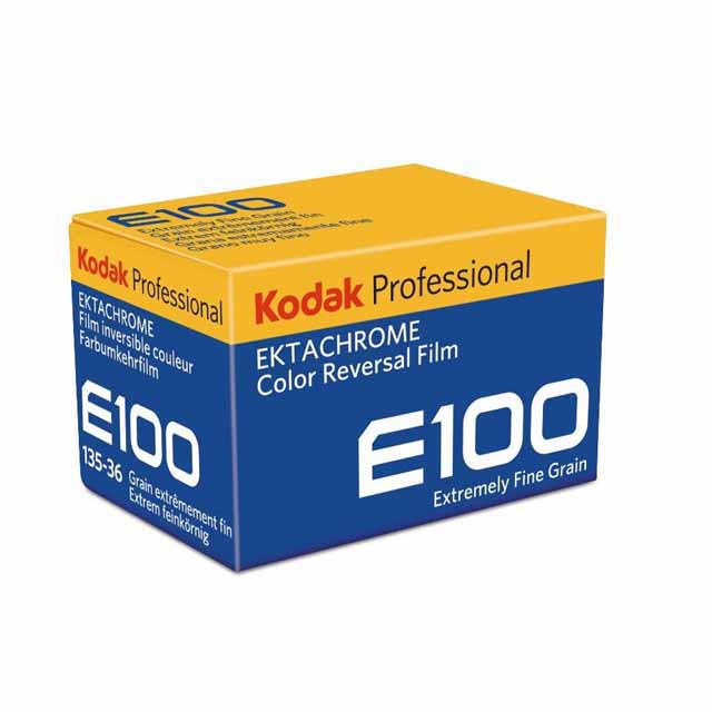 KODAK PROFESSIONAL EKTACHROME フィルム E100
