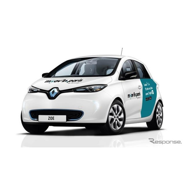 ルノーがEVカーシェア拡大、2022年までに自動運転車導入へ…パリモーターショー