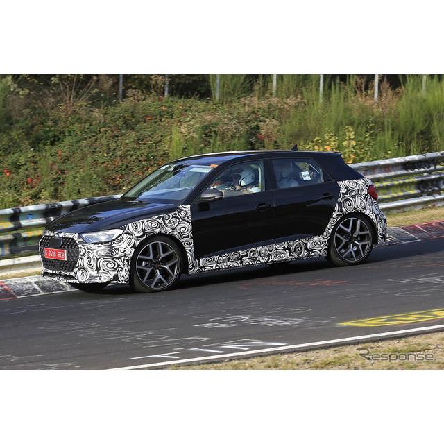 発表されたばかりのアウディ『A1』新型に、SUVテイストの派生モデル「オールロード」が初設定されることが...
