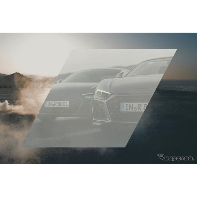 アウディの子会社、アウディスポーツは10月23日、改良新型『R8』(Audi R8)のティザーイメージを公開した...