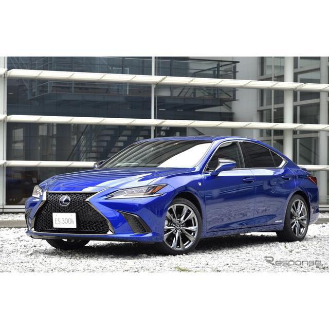 10月24日より国内販売が開始されたレクサス『ES』新型。GA-Kプラットフォームの採用により、走り、デザイン...