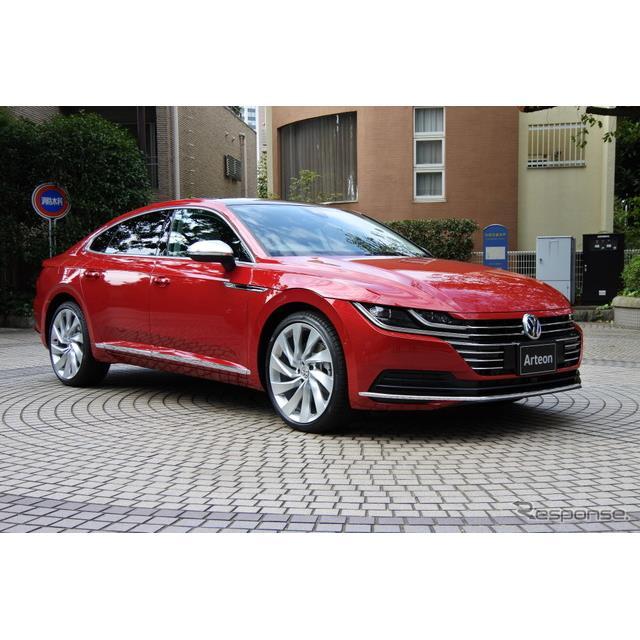 フォルクスワーゲン(VW)グループジャパンはフラッグシップモデル『アルテオン』に内装を3色から選べる新...