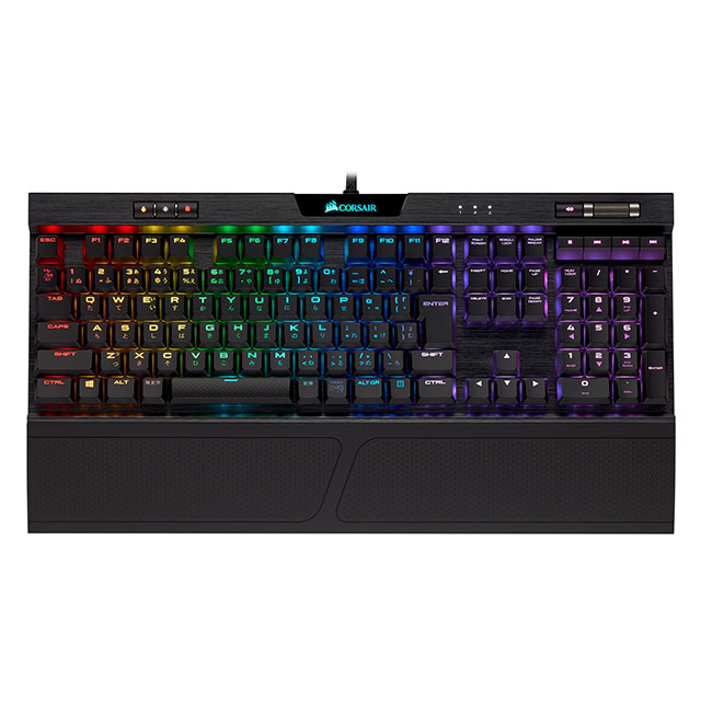 K70 RGB MK.2 LOW PROFILE RAPIDFIRE