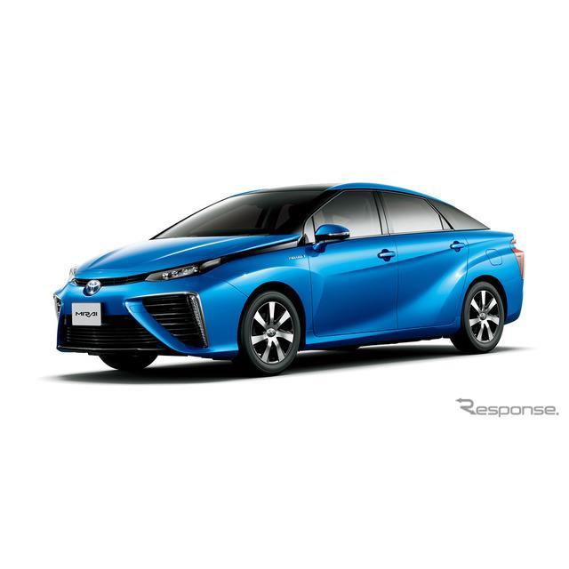 トヨタ自動車は、燃料電池自動車(FCV)『MIRAI』を一部改良し、10月30日より販売を開始した。  今回の一...