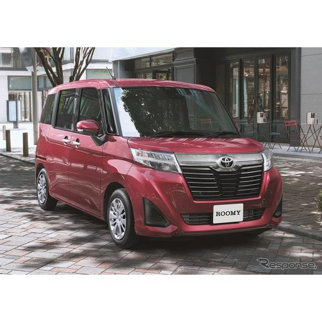 トヨタ自動車は、トールワゴン『ルーミー』および『タンク』を一部改良するとともに、特別仕様車「Gコージ...