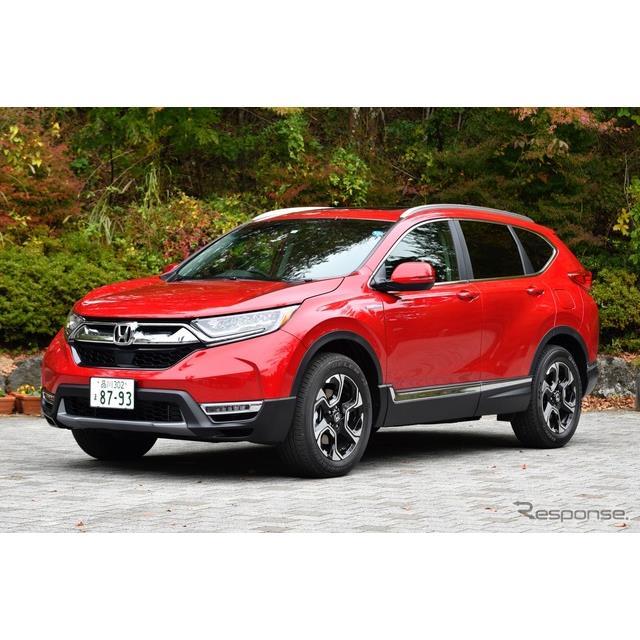 ホンダはミドルサイズSUV『CR-V』新型のハイブリッドモデルを11月1日より発売する。ガソリンモデルは、8月3...