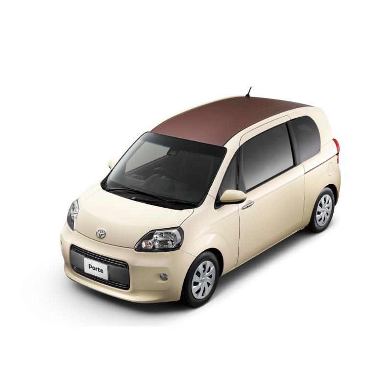 """トヨタ自動車は2018年11月5日、コンパクトカー「ポルテ」および「スペイド」に、特別仕様車「ポルテF""""ラフ..."""