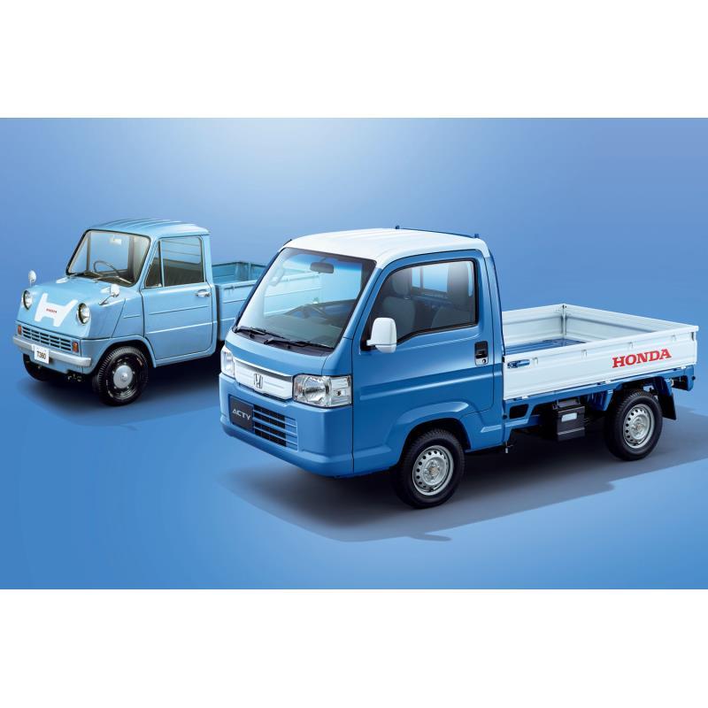本田技研工業は2018年11月8日、軽商用車「アクティ トラック」に特別仕様車「スピリットカラースタイル」を...