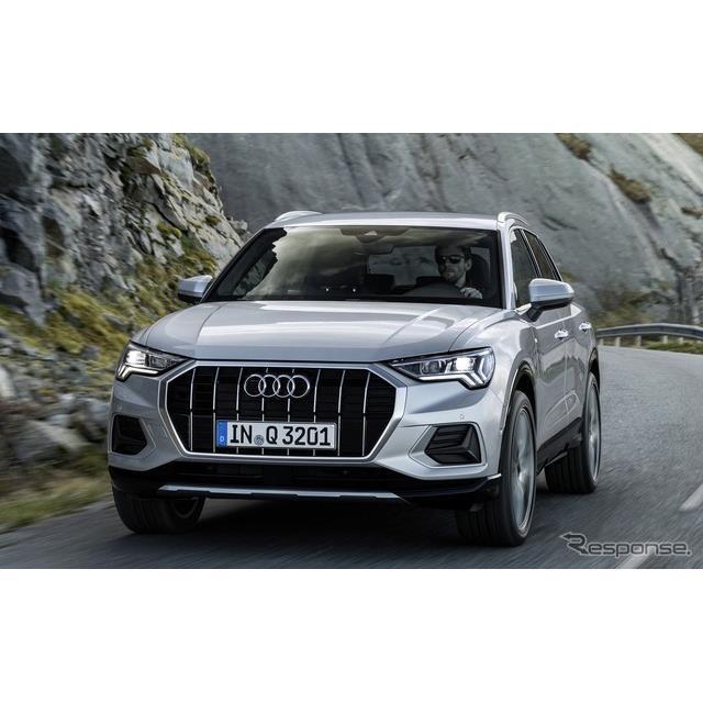 ◆エンジンは3種類のガソリンと1種類のディーゼル  アウディは11月8日、新型『Q3』(Audi Q3)の受注を欧...