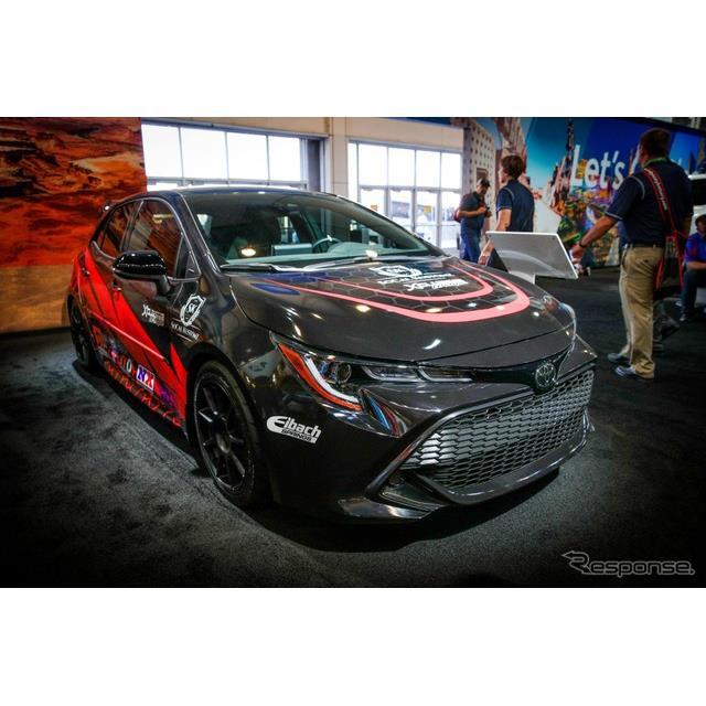 新型トヨタ・カローラ・ハッチバック(カローラ・スポーツ)の「SOCAL KUSTOMZ」仕様車(SEMAショー2018)