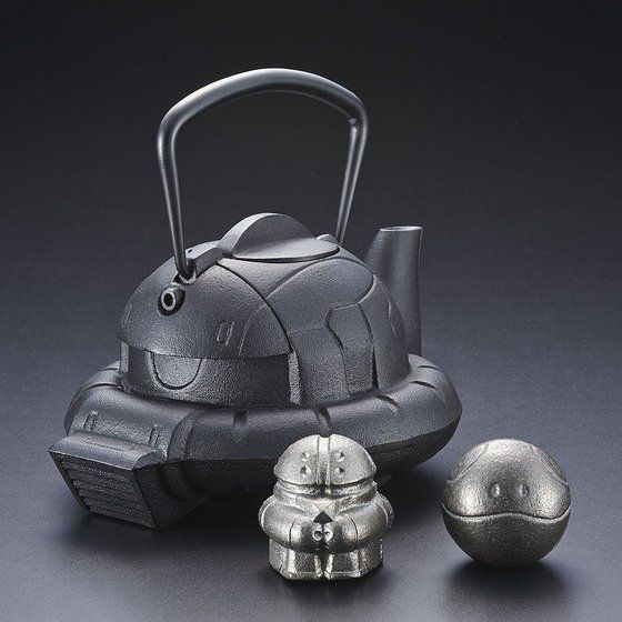 「南部鉄器コンプリートセット(鉄瓶 ZAKU 1個+鉄魂 2種)」