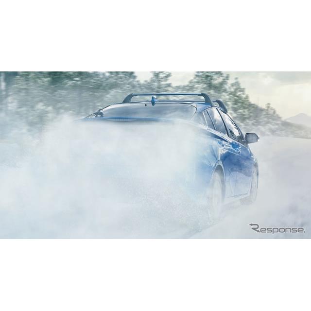 トヨタ・プリウス の2019年モデルのティザーイメージ