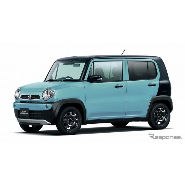 マツダは、軽乗用車『フレアクロスオーバー』を一部改良するとともに、特別仕様車「XGスペシャル」を新たに...
