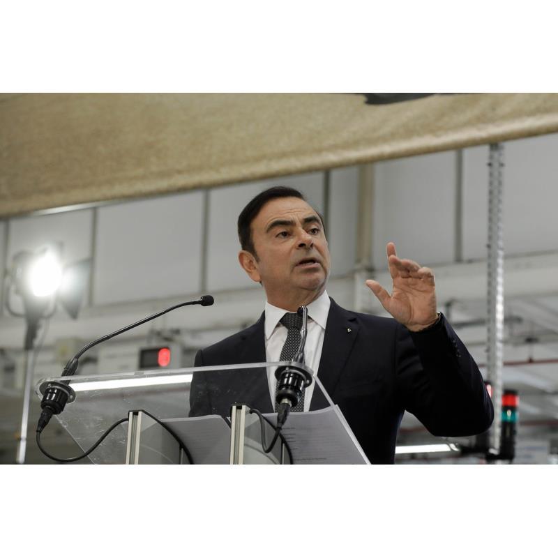 日産自動車の取締役会長カルロス・ゴーン。