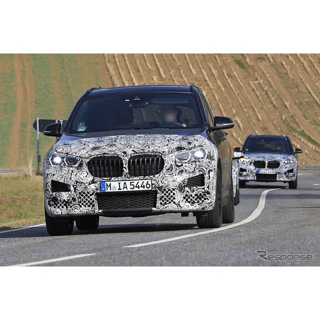 BMWのコンパクト・クロスオーバーSUV『X1』の改良新型プロトタイプをカメラが捉えた。最新の開発車両は、こ...