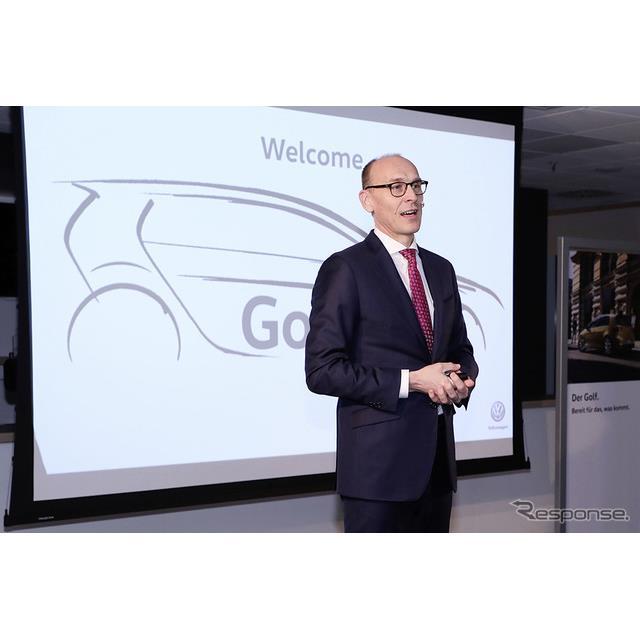 フォルクスワーゲングループ(Volkswagen Group)は11月26日、2019年に新型フォルクスワーゲン『ゴルフ』と...