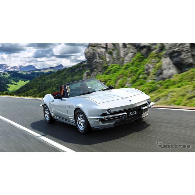光岡自動車は、創業50周年を記念した新型車『ロックスター』 を11月29日に発表、12月1日より受付を開始する...