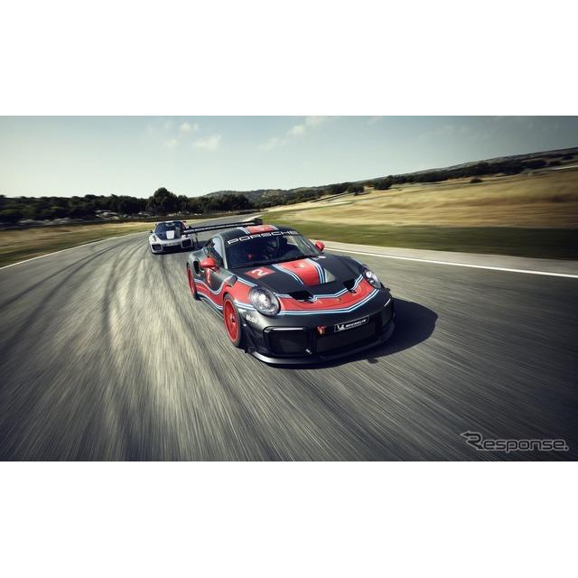 ◆200台限定  ポルシェは11月28日、米国で開幕したロサンゼルスモーターショー2018において、『911GT2 RS...