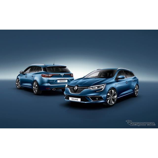 ルノー・ジャポンは、『メガーヌ』のワゴンモデル「スポーツ・ツアラー」発売1周年を記念した特別仕様車「...