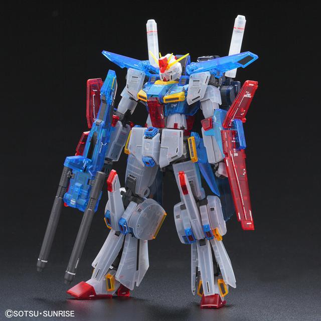 「MG 1/100 ダブルゼータガンダム Ver.Ka[クリアカラー]」