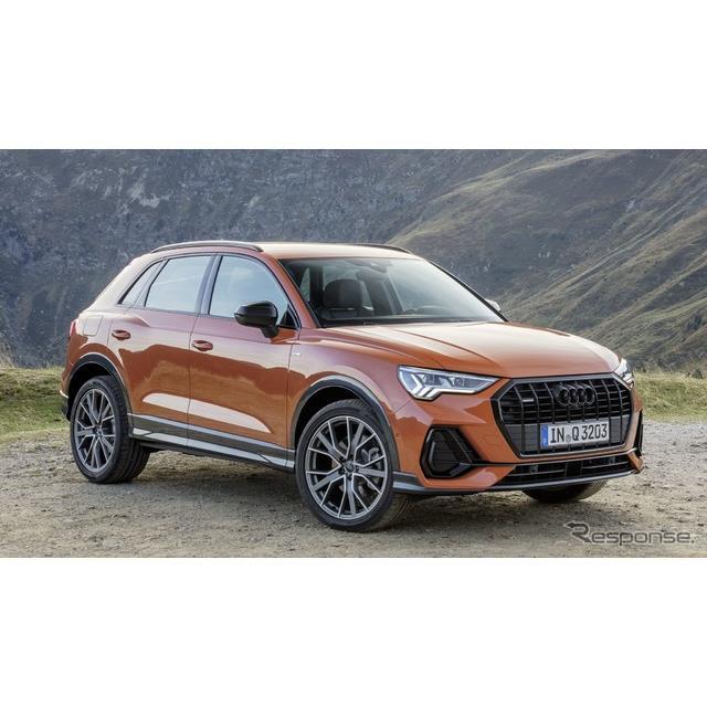 アウディは11月28日、新型『Q3』(Audi Q3)にトップグレードとして、「45 TFSI」を欧州で設定すると発表し...