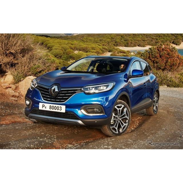 ◆Cセグメントクロスオーバー  ルノーは11月30日、『カジャー』(Renault Kadjar)の改良新型を欧州で発...