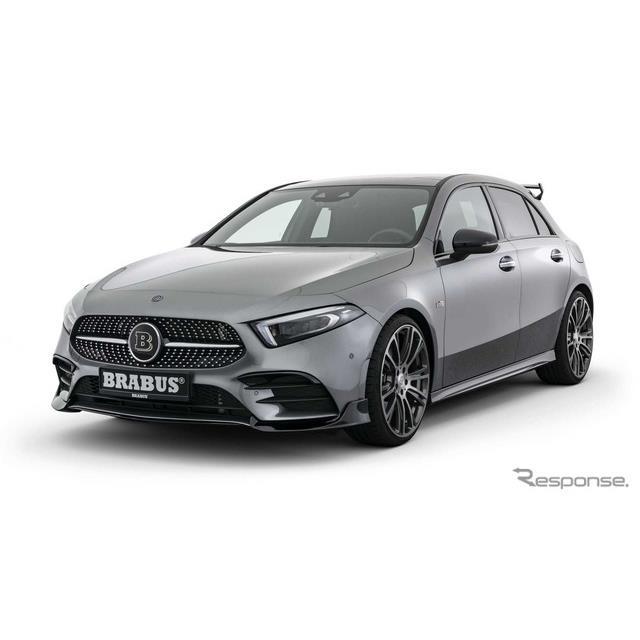ドイツに本拠を置くブラバス(Brabus)は12月5日、新型メルセデスベンツ『Aクラス』(Mercedes-Benz A clas...