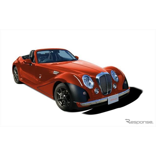 光岡自動車は、4代目マツダ『ロードスター』をベースとした2シーターオープン『ヒミコ』をマイナーチェンジ...