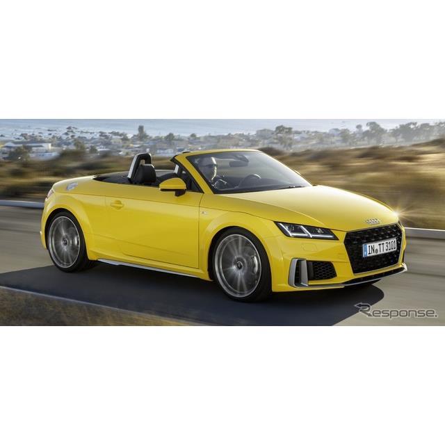 アウディは12月4日、『TTクーペ』(Audi TT Coupe)と『TTロードスター』(Audi TT Roadster)の改良新型の...