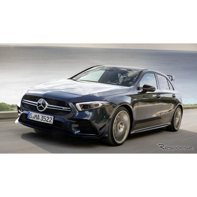 メルセデスベンツ(Mercedes-Benz)の高性能車部門、メルセデスAMGは12月5日、メルセデスAMG『A35 4MATIC』...