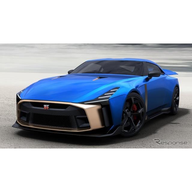 日産自動車の米国部門は12月7日、『GT-R50 by イタルデザイン』(Nissan GT-R50 by Italdesign)の市販モデ...