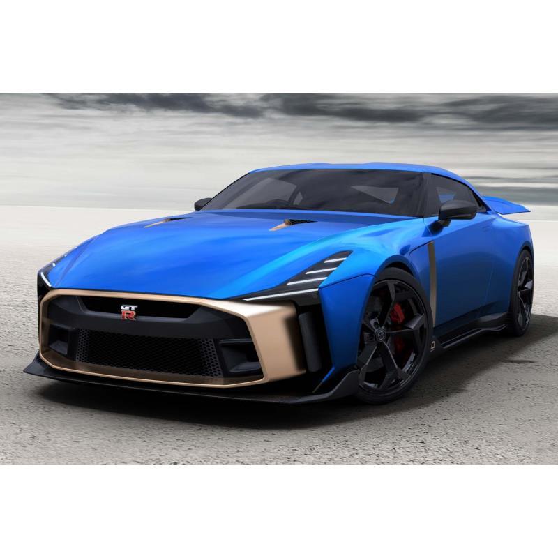 日産自動車は2018年12月7日、「日産GT-R50 by Italdesign」の市販モデルのデザインを公開し、あわせて同車...
