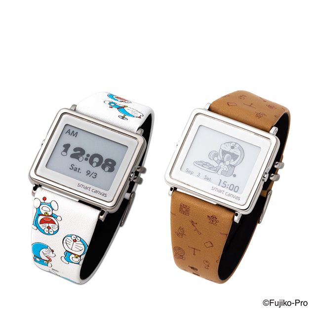 「ドラえもん Smart Canvas デジタル腕時計」