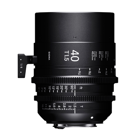 「SIGMA FF High Speed Prime Line 40mm T1.5 FF」