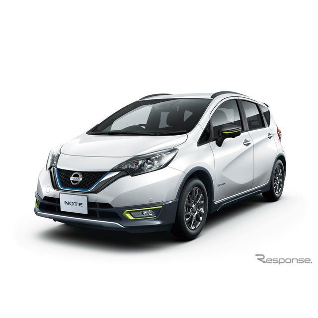日産自動車は、コンパクトカー『ノート』に特別仕様車「C-ギア リミテッド」を追加し、12月10日より販売を...