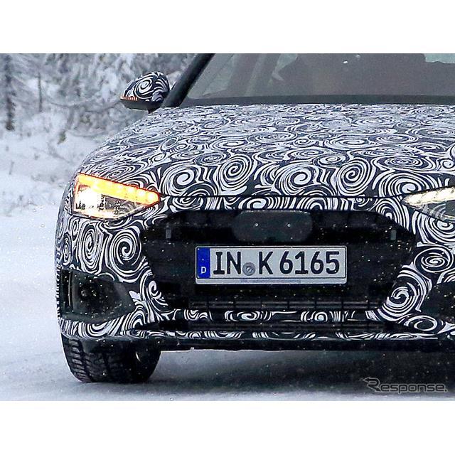 アウディのDセグメントワゴン『A4アバント』改良新型プロトタイプを、スウェーデンの山中でスクープサイトS...