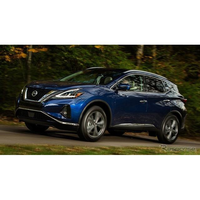 日産自動車の米国部門は12月17日、『ムラーノ』(Nissan Murano)の2019年モデルを12月20日に発売すると発...
