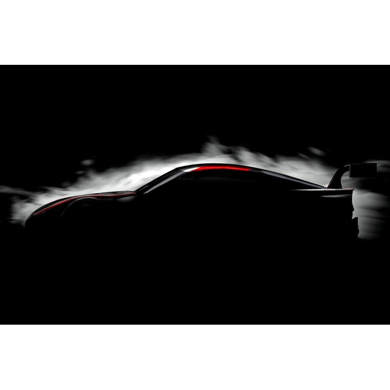 東京オートサロン2019への出展が予定されている「GRスープラ スーパーGTコンセプト」。