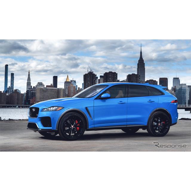 ジャガー・ランドローバー・ジャパンは、ジャガーのSUVモデル『F-PACE』2019年モデルの受注を12月19日より...