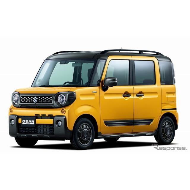 スズキは、SUVデザインの軽ハイトワゴン『スペーシアギア』を12月20日に発売する。  新型スペーシアギア...