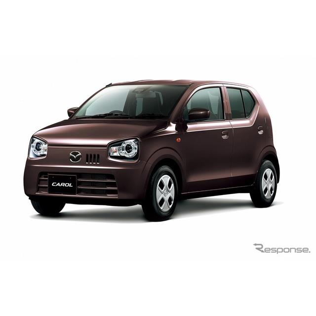 マツダは、軽自動車『キャロル』を一部改良し、12月20日より販売を開始した。  今回の改良では、昼間の歩...
