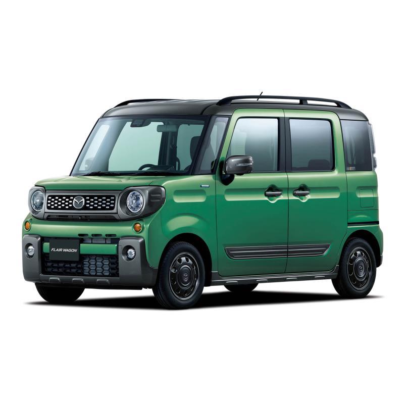 マツダは2018年12月26日、軽乗用車「フレアワゴン」に新モデルの「タフスタイル」を設定し、販売を開始した...